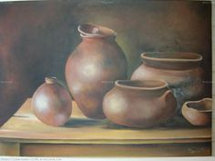 imagenes dibujo de tinajas - Buscar con Google Candle Holders, Candles, Painting, Home Decor, Google, Paintings, Vases, Decoration Home, Room Decor
