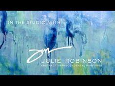 ▶ InTheStudioWithJulieRobinson - YouTube She works on mylar