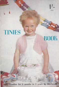 Tinies Book from Stitchcraft Knitting Pattern by jennylouvintage