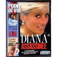 Point De Vue N° 2876 Du 02/09/2003 - Diana Assassinee - Les Services Secrets - Claire Et Laurent De Belgique - Ivanka Trump.