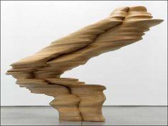 Sculpture by Tony Cragg Organic Sculpture, Modern Sculpture, Abstract Sculpture, Wood Sculpture, Contemporary Art Artists, Wooden Art, Art For Art Sake, Art Object, Conceptual Art