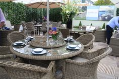 Bramblecrest furniture at Chelsea Flower Show