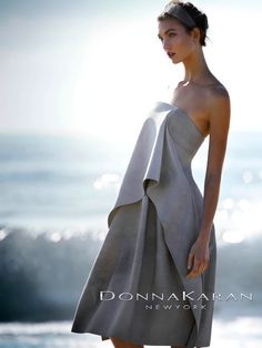 Karlie Kloss by Patrick Demarchelier for Donna Karan Spring 2013