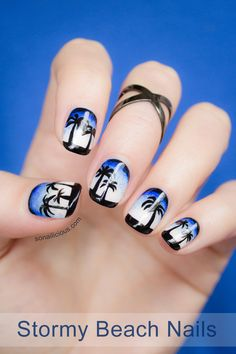 I wish I had the ability to do this myself on my own nails!