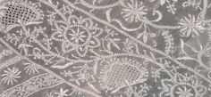 Chikankari ~ The delicate Jaali work created on the base fabric with the thread