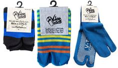 3 Pairs - Variety of V-Toe flip flop socks!  Some non-skids, some over the knee, many crew.....you decide which style is for you! On Sale - Free Shipping Combo Discounts!