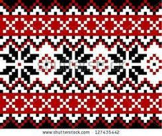 Find Nordic pattern with snowflakes. Mosaic in Scandinavian, Norwegian style Stock Vectors and millions of other royalty-free stock photos, illustrations, and vectors in the Shutterstock collection. Thousands of new, high-quality images added every day. Fair Isle Knitting Patterns, Fair Isle Pattern, Knitting Charts, Knitting Stitches, Crochet Chart, Crochet Patterns, Nordic Pattern, Cross Stitch Embroidery, Cross Stitch Patterns