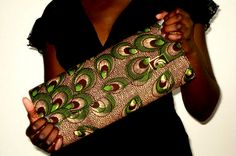 """Helena Aidoo-Morrison is a young Ghanian, up and coming African-fabric-infused ladies' purse and swimwear designer who describes her line as """"vibrant."""" Here's what Helena had to share about her line:"""