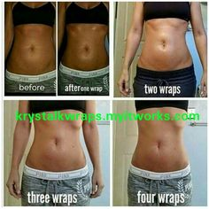 Tighten, Tone, and firm! Get rid of your jello jigglers! See results in as little as 45 minutes! Krystalkwraps.myitworks.com