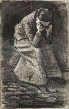 Weeping Woman, Vincent van Gogh  1883