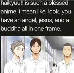 Haikyuu Karasuno, Haikyuu Funny, Haikyuu Manga, Haikyuu Fanart, Kuroo, Anime Manga, Anime Guys, Kagehina, Stupid Funny Memes