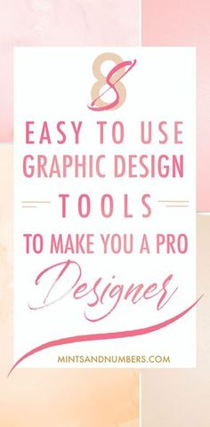 Designing visually stunning graphics or images should not be tricky or hard. Here are 8 online tools and apps that will help you create beautiful and engaging social media and blog graphics in no time. They are simple and easy to use and you do not need any design skills to rock your visual content game! #graphicdesigntips #graphicdesigntools #blogdesigntips