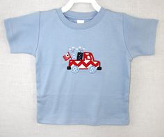 291830 Baby Boy Clothes  Fourth of July Romper  4th by ZuliKids, $19.50