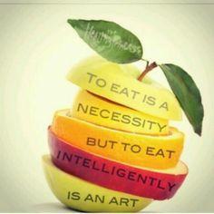 Eat well:)