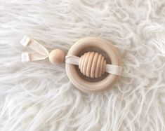 Wood Toy Montessori Grasping Toy Montessori by CloverandBirch