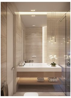 Bathroom Design Luxury, Modern Bathroom Decor, Bathroom Layout, Modern Bathroom Design, Small Bathroom, Parisian Bathroom, Bathroom Marble, Modern Contemporary Bathrooms, Rental Bathroom