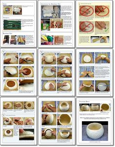 How to make wet felted bowls eBook tutorial от FeltingTutorials