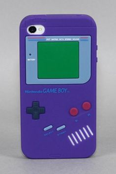 Game Boy Case for iPhone....YES! This has to be the coolest i-phone case!