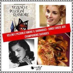"""#RicetteSfiziose #Ophiere:  ➔ ➜ Ricetta """"Dinde farcie aux champignons sauvages"""" (piatto ispirato al libro """"Veleno e Pozioni d'Amore"""" di I. Barnabas)"""
