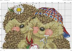 Zz Hedgehog Cross Stitch, Kids Rugs, Punto De Cruz, Dots, Embroidery, Kid Friendly Rugs, Nursery Rugs