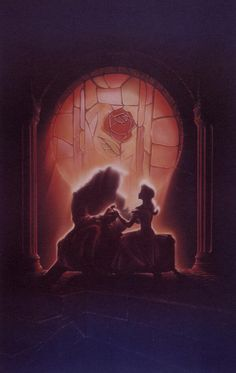 John Alvin's poster concepts for Disney's Beauty and the Beast (1991)