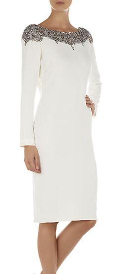 Simple yet elegant Short Dresses, Formal Dresses, Marchesa, Pretty Dresses, Beautiful Outfits, Dress To Impress, Evening Dresses, Fashion Dresses, Dress Up