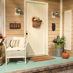 Add Charm with a Painted Front Stoop