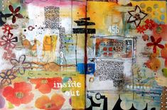 Art Journaling With Mary Beth Shaw Online Event on http://www.createmixedmedia.com