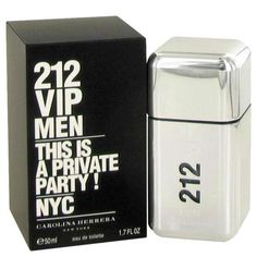212 Vip by Carolina Herrera. Carolina Herrera presented the 212 Vip masculine edition in the year This night life scent radiates your uber cool style and attitude of the New York party animal with subtle notes of gin and vodka. Perfume Carolina Herrera, Carolina Herrera 212 Vip, Perfume 212 Vip, 212 Man, New York Party, Best Mens Cologne, Men's Aftershave, Cologne Spray, Lotions