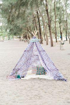 Bohemian Themed Wedding Beach Philippines In Zambales