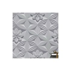 Found it at AllModern - Illusions 33' x 20'' Flower 3D Embossed Wallpaper