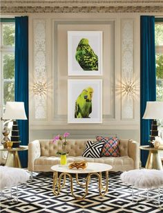 Living Room Design Tool Delectable Mirrors As A Design Tool  Interior Design And Decorating Ideas Decorating Inspiration