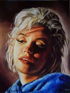 Ritratto di Marylin Monroe Marylin Monroe portrait