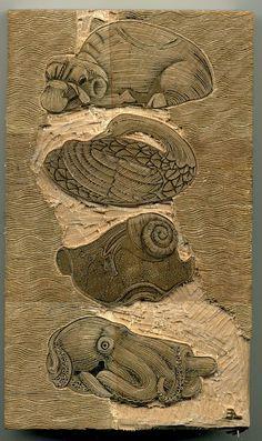 wood engraving process - Andy English