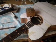 How to build an acoustic guitar - YouTube