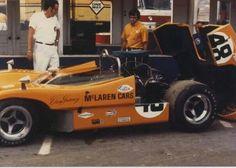 @ The Glen Can Am 1970  Dan Gurney McLaren M8D  @ Paul Leffert