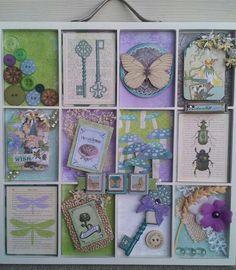 Bo Bunnys Enchanted Garden Printers Tray