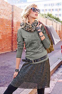 Aniston Langarmshirt im Universal Online Shop