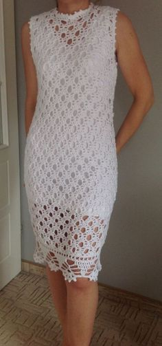 Beautiful White crochet dress…lovely pattern [] #<br/> # #White #Crochet #Dresses,<br/> # #Fit,<br/> # #Crochet #Ideas,<br/> # #Image,<br/> # #Beautiful,<br/> # #Pattern,<br/> # #Knit #Dresses,<br/> # #Skirts,<br/> # #Tric<br/>