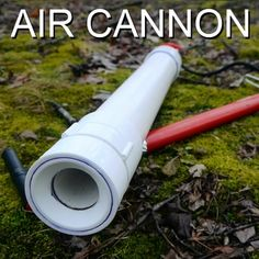 This video shows how I make a compact bore air cannon with a coaxial piston valve. To understand how these valves work examine the third animation in the. Pvc Pipe Crafts, Pvc Pipe Projects, Diy And Crafts, Projects To Try, Adult Crafts, Geocaching, Air Cannon, Experiment, Homemade Weapons
