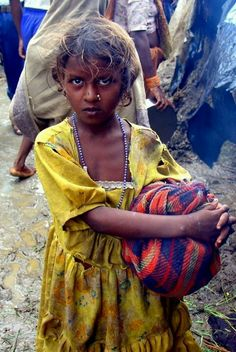 A Dalit girl in India...the Dalit is one of the most oppressed people groups in the world.