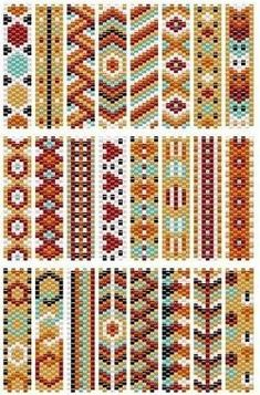 bead loom patterns Free Basic Peyote Stitch Patterns and Pattern Maker Tools Native Beading Patterns, Peyote Beading Patterns, Loom Bracelet Patterns, Peyote Stitch Patterns, Bead Embroidery Patterns, Bead Loom Bracelets, Bead Loom Patterns, Beaded Jewelry Patterns, Weaving Patterns