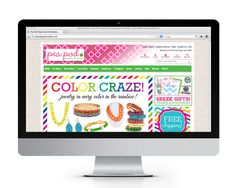 Pea Pod Paper & Gifts website design and development, by The Savvy Socialista.