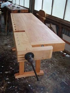 Woodworking Bench Vises of Your Dreams - by Airframer @ LumberJocks.com ~ woodworking community -