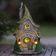 Solar Quirky Fairy Mansion