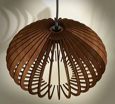 $190 wood pendant light by AAarchiTECture Lab Made and designed in Greece.   YOU CAN SEE IN THE FRONT PAGE OF SHOP, FABRIC WIRE COLOR AND WOOD STAIN COLOR OPTIONS.  dimensions: (30cm (11,8 in) height - 47cm (18,5 in) width)   Notice that the chandelier comes without bulb but fits all voltages 110-220V  Lamp Holder: E27   Ready to ship in 8-10 business days  Im senting the items with Greek Post Office (FASTEST WAY...