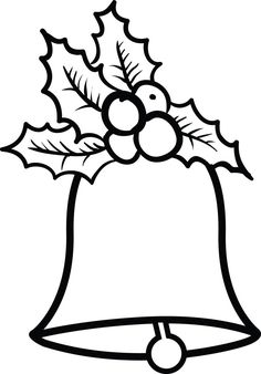 Christmas bells coloring page # 2 – Christmas Crafts Christmas Bells Drawing, Christmas Drawings For Kids, Christmas Paintings, Christmas Crafts For Kids, Xmas Crafts, Felt Christmas, Christmas Colors, Christmas Projects, Christmas Ornaments