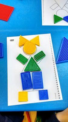 Blogue do Jardim Escola Carrocel: Blocos Lógicos Puzzles For Toddlers, Activities For Kids, Printable Puzzles, Sensory Bins, Fine Motor Skills, Best Part Of Me, Preschool, Lego, Education