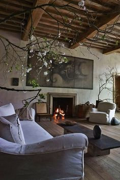 Beautiful barn conversion with French rustic styling