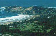 Newport Oregon, Agate Beach...an ok course, easy walking course.